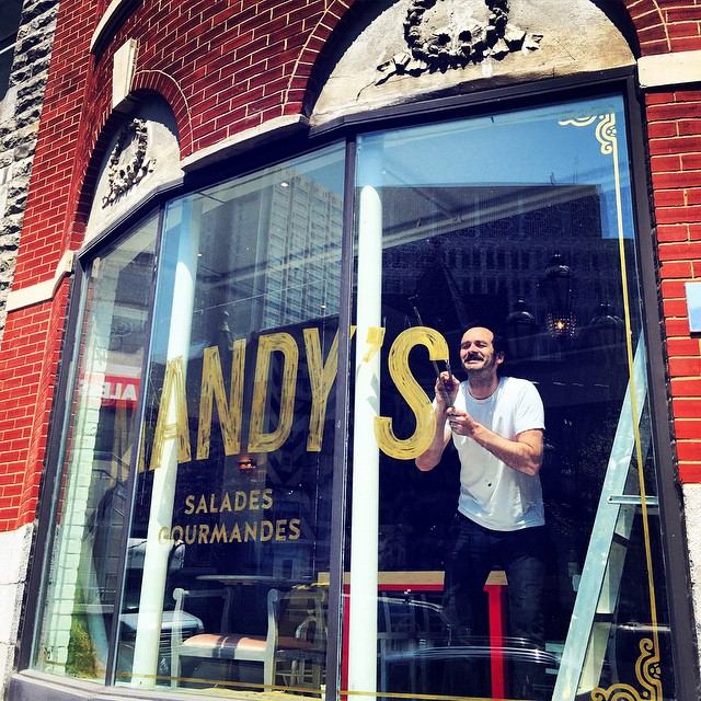 Mandy's downtown Montreal